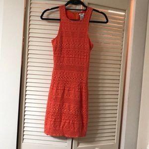 Skinny mini dress